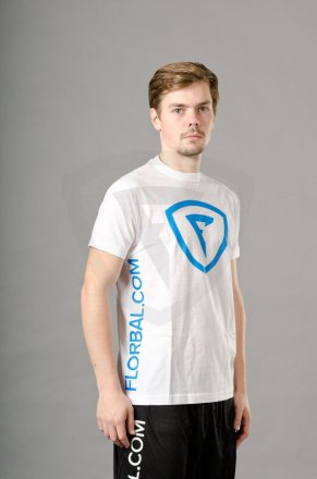 Florbal.com T-shirt New Style White