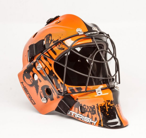 Tempish Hero Color Orange Goalie Mask tempish hero orange praha
