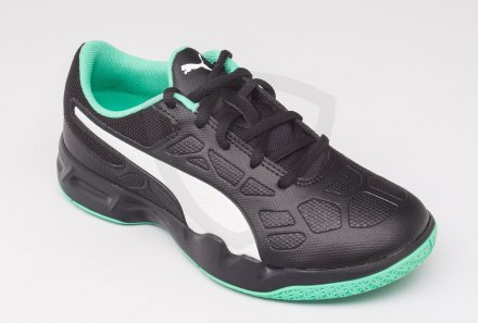 Puma Tenaz JR Black-Green-White