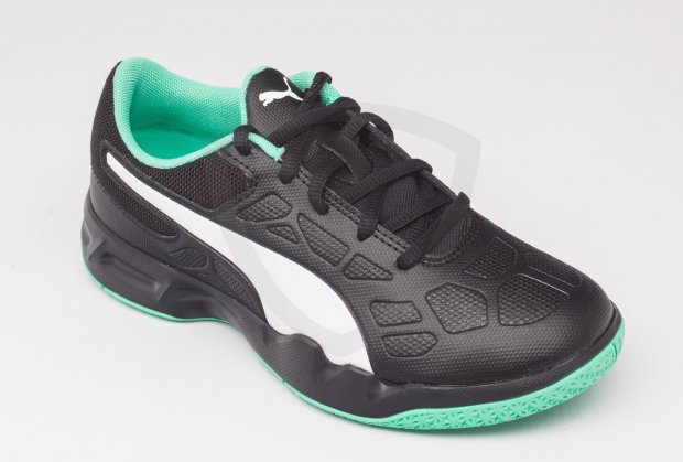Puma Tenaz JR Black-Green-White Puma Tenaz JR Black-Green-White