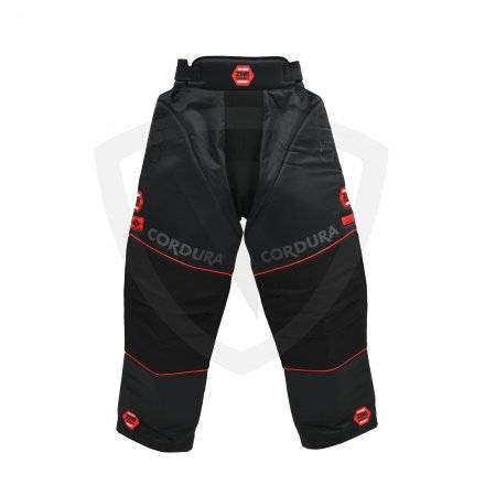 Zone PRO Goalie Pants Black-Red