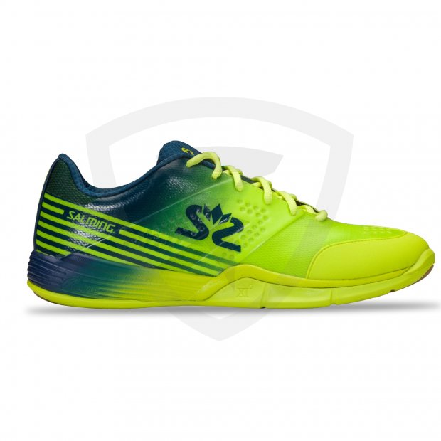 Salming Viper 5 Men Fluo Green-Navy 1230071-1604_1_Viper-5-Shoe-Men_Fluo-Green-Navy