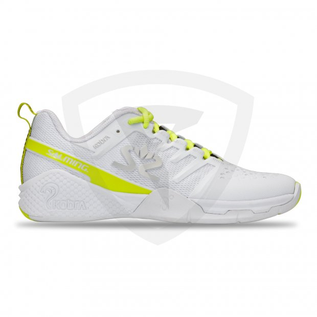 Salming Kobra 3 Women White-Fluo Green 1230081-0716_1_Kobra-3-Shoe-Women_White-Fluo-Green