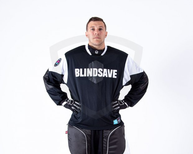 Blindsave Supreme Black Goalie Jersey Blindsave Supreme Black Goalie Jersey