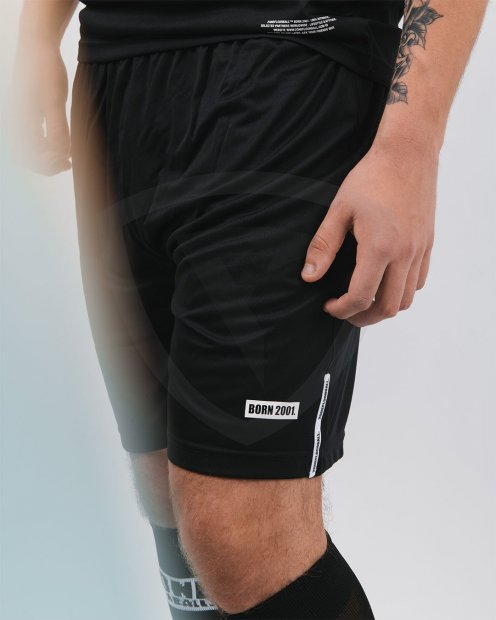 Zone Shorts ATHLETE Black JR SHORTS-ATHLETE-2