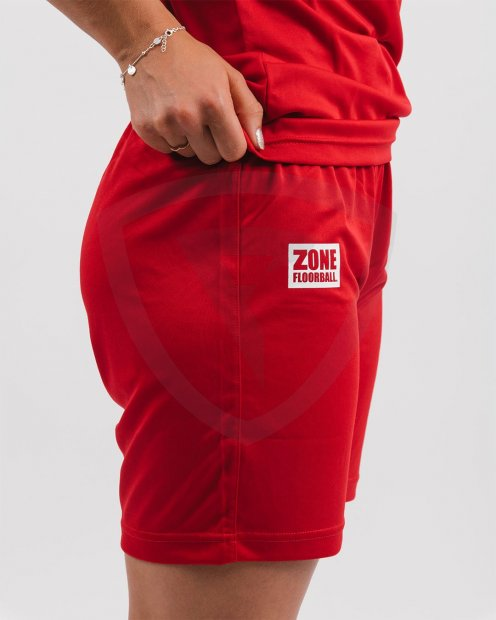 Zone Shorts ATHLETE Red JR SHORTS-ATHLETE-6